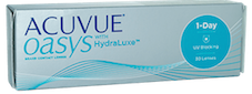 1 Day Acuvue Oasys HydraLuxe Contact Lenses