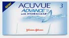 Acuvue Advance Hydraclear Disposable Contact Lenses
