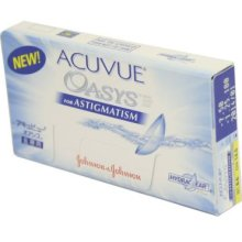 Acuvue Oasys for Astigmatism Contact Lenses Online